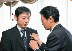 第2286回例会 新会員あいさつ 松本 仁君(41)=日光リネンサプライ社長