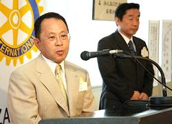 白山石川RC 創立 10周年記念式典のご案内